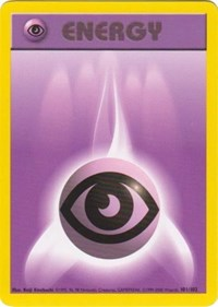 Psychic Energy, Pokemon, Base Set