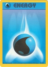Water Energy, Pokemon, Base Set