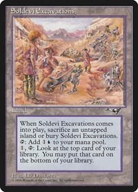 Soldevi Excavations, Magic, Alliances