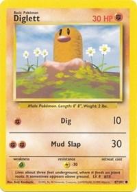 Diglett, Pokemon, Base Set