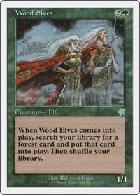 Wood Elves, Magic: The Gathering, Starter 1999