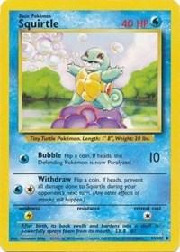 Squirtle, Pokemon, Base Set
