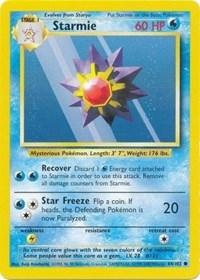 Starmie, Pokemon, Base Set