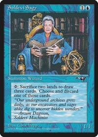 Soldevi Sage (Old Woman), Magic: The Gathering, Alliances