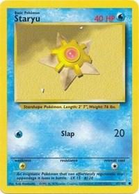 Staryu, Pokemon, Base Set