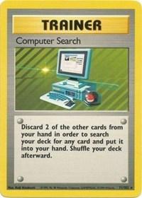 Computer Search, Pokemon, Base Set