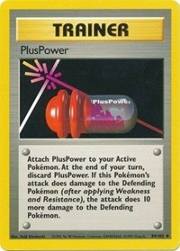 PlusPower, Pokemon, Base Set