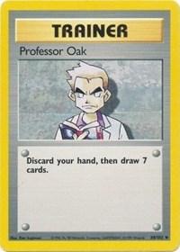 Professor Oak, Pokemon, Base Set