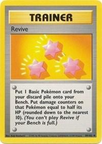 Revive, Pokemon, Base Set