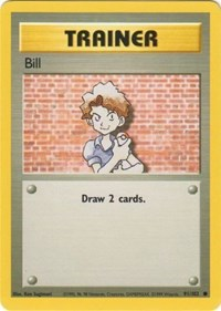 Bill, Pokemon, Base Set