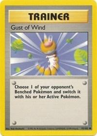 Gust of Wind, Pokemon, Base Set