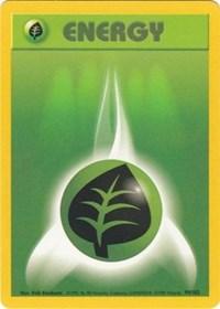 Grass Energy, Pokemon, Base Set