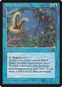 Spiny Starfish, Magic: The Gathering, Alliances