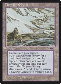 Thawing Glaciers, Magic: The Gathering, Alliances