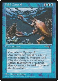 Tidal Control, Magic: The Gathering, Alliances