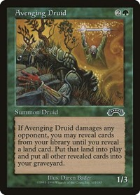 Avenging Druid, Magic: The Gathering, Exodus