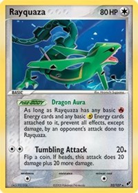 Rayquaza - 22/107, Pokemon, Deck Exclusives