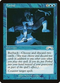 Forbid, Magic: The Gathering, Exodus