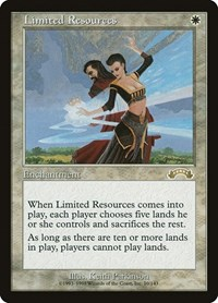 Limited Resources, Magic: The Gathering, Exodus