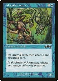 Merfolk Looter, Magic: The Gathering, Exodus