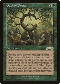 Oath of Druids, Magic: The Gathering, Exodus