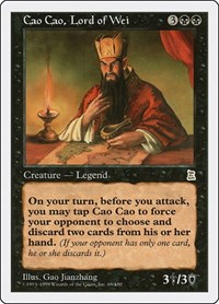 Cao Cao, Lord of Wei, Magic, Portal Three Kingdoms