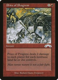 Price of Progress, Magic, Exodus