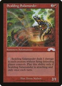 Scalding Salamander, Magic: The Gathering, Exodus