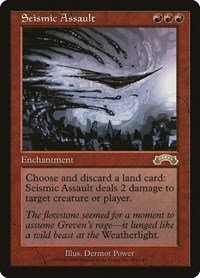 Seismic Assault, Magic: The Gathering, Exodus