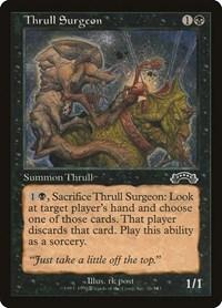 Thrull Surgeon, Magic: The Gathering, Exodus