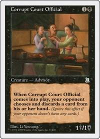 Corrupt Court Official, Magic, Portal Three Kingdoms