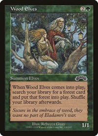 Wood Elves, Magic: The Gathering, Exodus