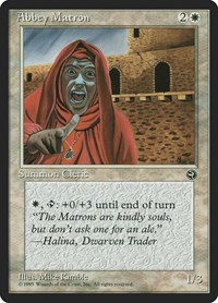 Abbey Matron, Magic: The Gathering, Homelands