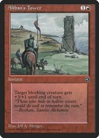 Aliban's Tower, Magic, Homelands