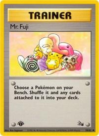 Mr. Fuji, Pokemon, Fossil