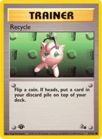 Recycle, Pokemon, Fossil