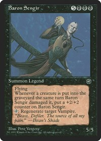 Baron Sengir, Magic: The Gathering, Homelands