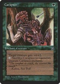 Carapace, Magic: The Gathering, Homelands