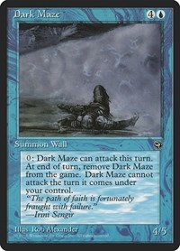 Dark Maze, Magic, Homelands