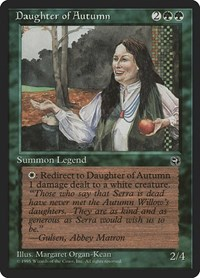Daughter of Autumn, Magic, Homelands