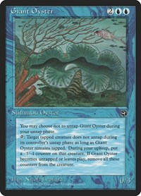 Giant Oyster, Magic: The Gathering, Homelands