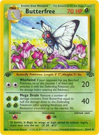 Butterfree, Pokemon, Jungle