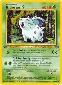 Nidoran F, Pokemon, Jungle
