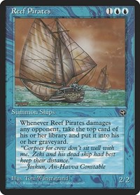 Reef Pirates [Version 2], Magic: The Gathering, Homelands
