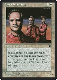 Serra Inquisitors, Magic, Homelands