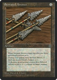 Serrated Arrows, Magic, Homelands