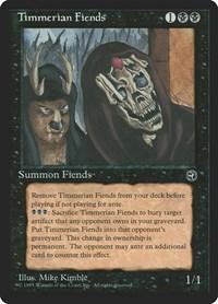Timmerian Fiends, Magic, Homelands