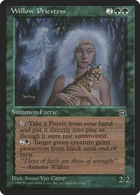 Willow Priestess, Magic: The Gathering, Homelands