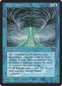Aether Storm, Magic: The Gathering, Homelands