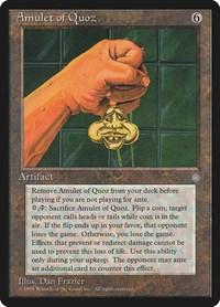 Amulet of Quoz, Magic: The Gathering, Ice Age